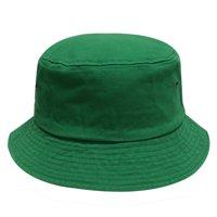 f0f88171857 Product Image City Hunter Plain Cotton Bucket Hats (Bd2020-Kelly Green)