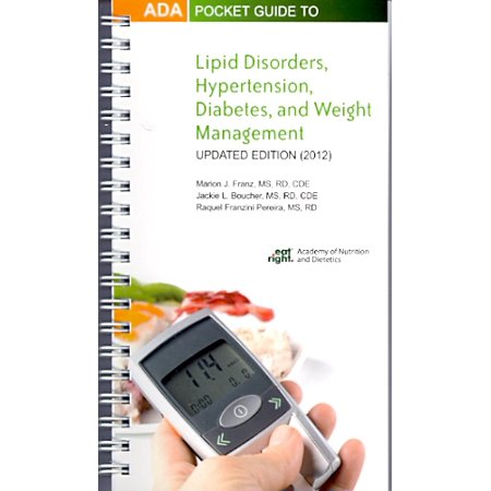 ADA Pocket Guide to Lipid Disorders, Hypertension, Diabetes, and Weight