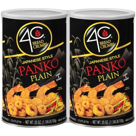 Product of 4C Foods Japanese Style Panko Plain Bread Crumbs, 2 pk./25 oz.