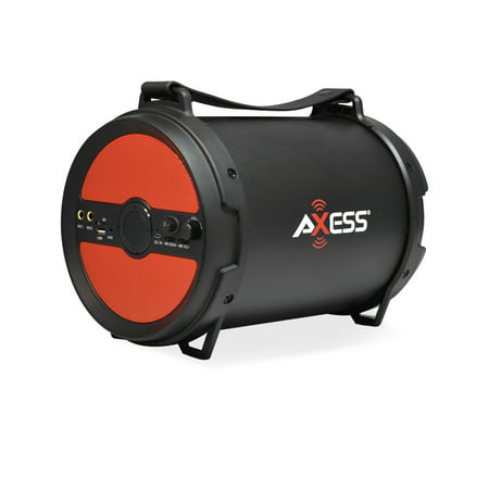 Axxess BT Media Speaker with 6 Inch Speaker and 2 Microphone Inputs in