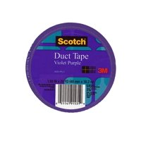 Colored Duct Tape violet purple, 1.88 in. x 20 yd. roll (pack of 6)