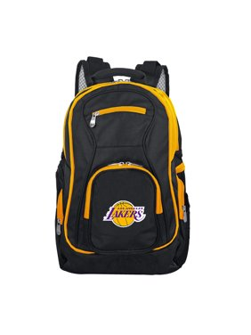 NBA LA Lakers Premium Laptop Backpack with Colored Trim
