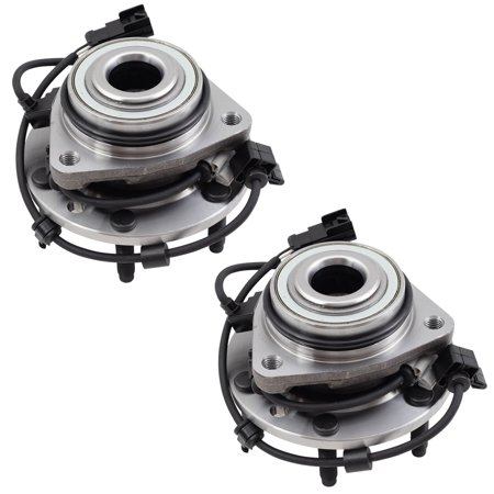 - Pair of Front Wheel Hub Bearings Replacement for Chevrolet Buick GMC Isuzu Oldsmobile SUV 15130858