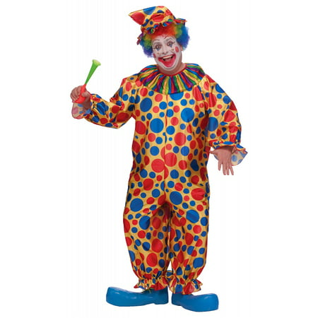 Clown Plus Size Adult Costume - Plus Size 2X (Snow White Costume Plus Size)