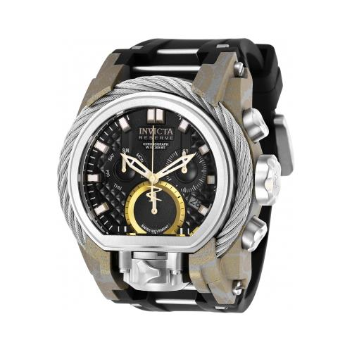 Invicta 26442 Mens Reserve Quartz Multifunction Dial Watch - Black
