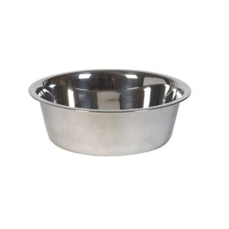 Hilo 56630 Stainless Steel Pet Dish, Large - Hi Flo Stainless Steel Header