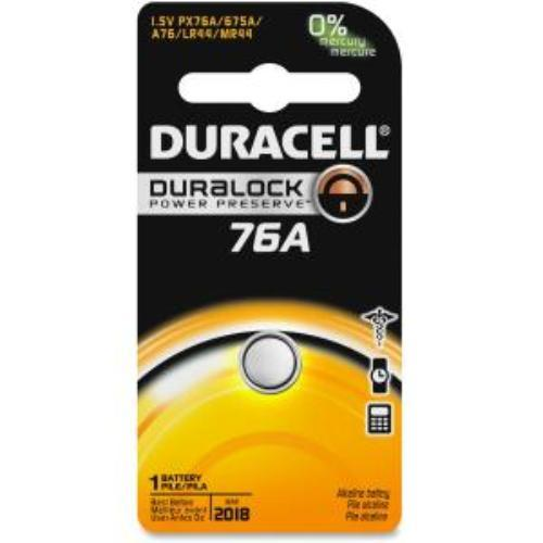 Duracell 76a Special Application Battery - Lr44/a76 - Alkaline - 1.5 V Dc - 1 Pack (px76a675pk09_35)