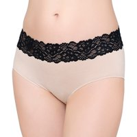 Panty Seamless Hipster w/Lace