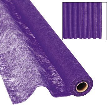 Purple Gossamer Roll 100 FT X 3 FT Wedding Aisle Decoration Table Cover