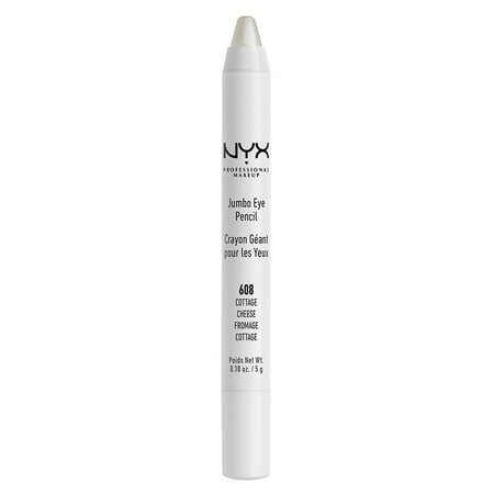 NYX Professional Makeup Jumbo Eye Pencil, Cottage Cheese - Cat Halloween Makeup With Eyeliner