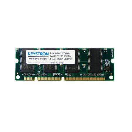 64MB Cisco 1700 Series Routers Dram Memory (p/n MEM1700-64D) 1701 ADSL, 1710, 1711, 1712, 1721, 1751, 1760 ()