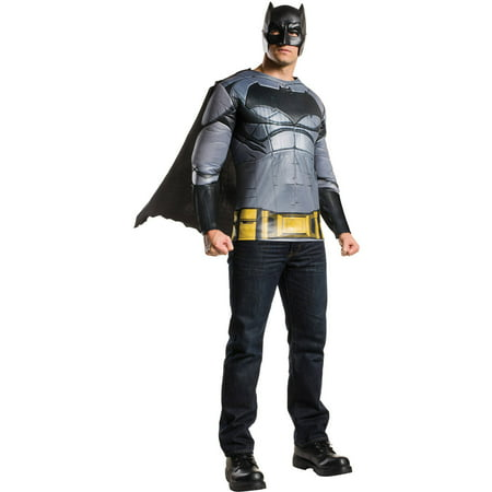 Batman M/C Top Adult Halloween Costume (Batman Onesies For Adults)