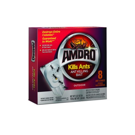 Amdro Ant Killing Ant Bait, For Indoor and Outdoor Use, 8