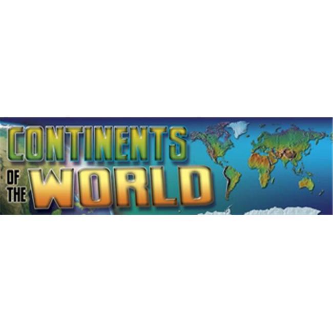 Carson Dellosa CD-410034 Bbs Continents Of The World Gr 4-8
