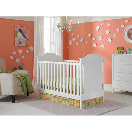 Fisher-Price Savannah 3-in-1 Fixed-Side Convertible Crib, Choose Your Finish