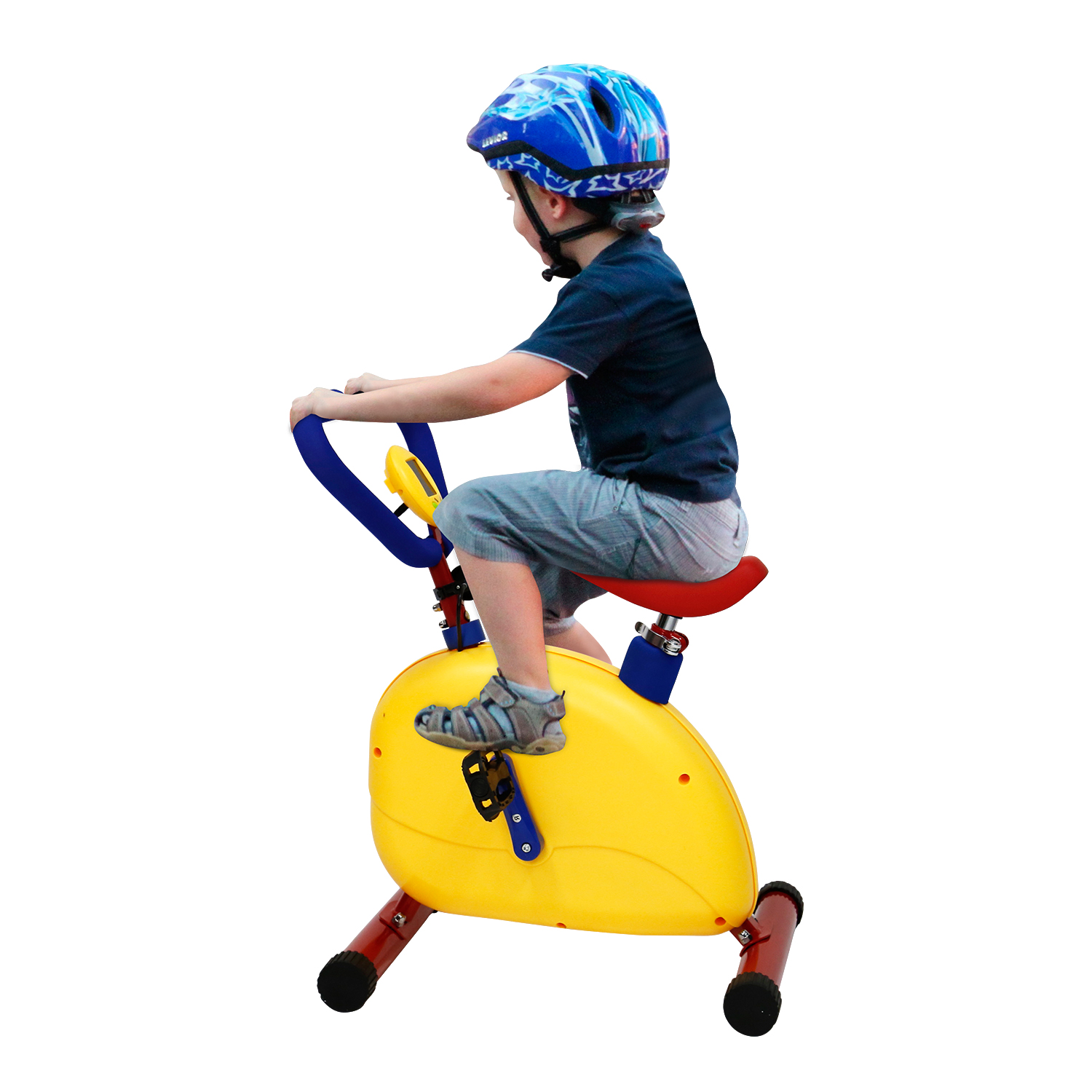 Kinbor Fun and Fitness Exercise Equipment for Kids Children Happy Ride Bike Cycling Indoor