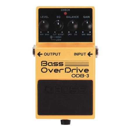Boss ODB-3 Bass OverDrive Pedal Boss Odb 3 Bass Overdrive