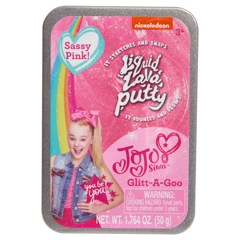 Just Play Nickelodeon JoJo Siwa Liquid Lava Putty Sassy