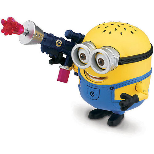 Despicable Me Minion Jerry with Jelly Blaster Deluxe Action Figure
