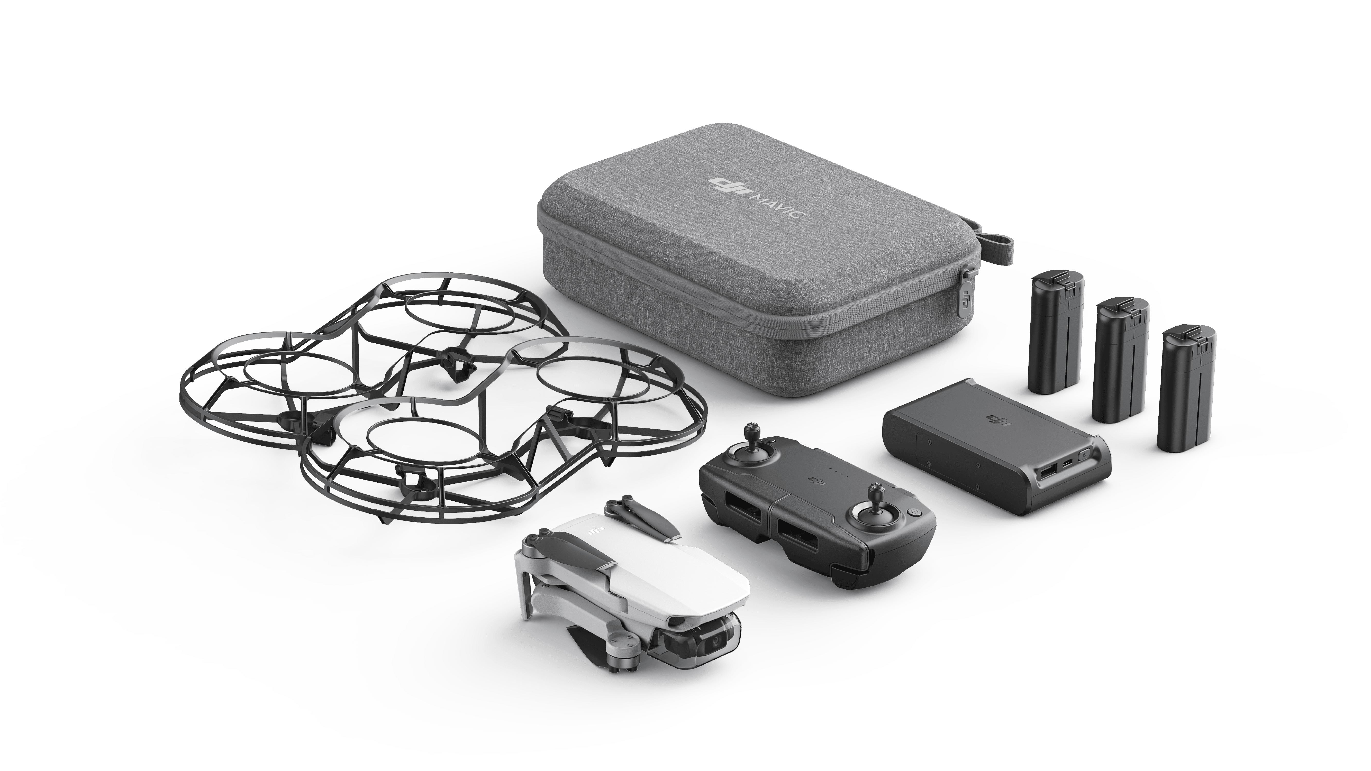 DJI Mavic Mini Fly More Combo (Mavic Mini Quadcopter, 3 x Battery, 360 Propeller Guard) + More
