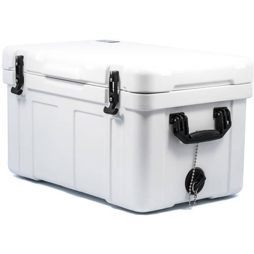 Camco 51870 White Caribou Cooler, 58 qt Capacity