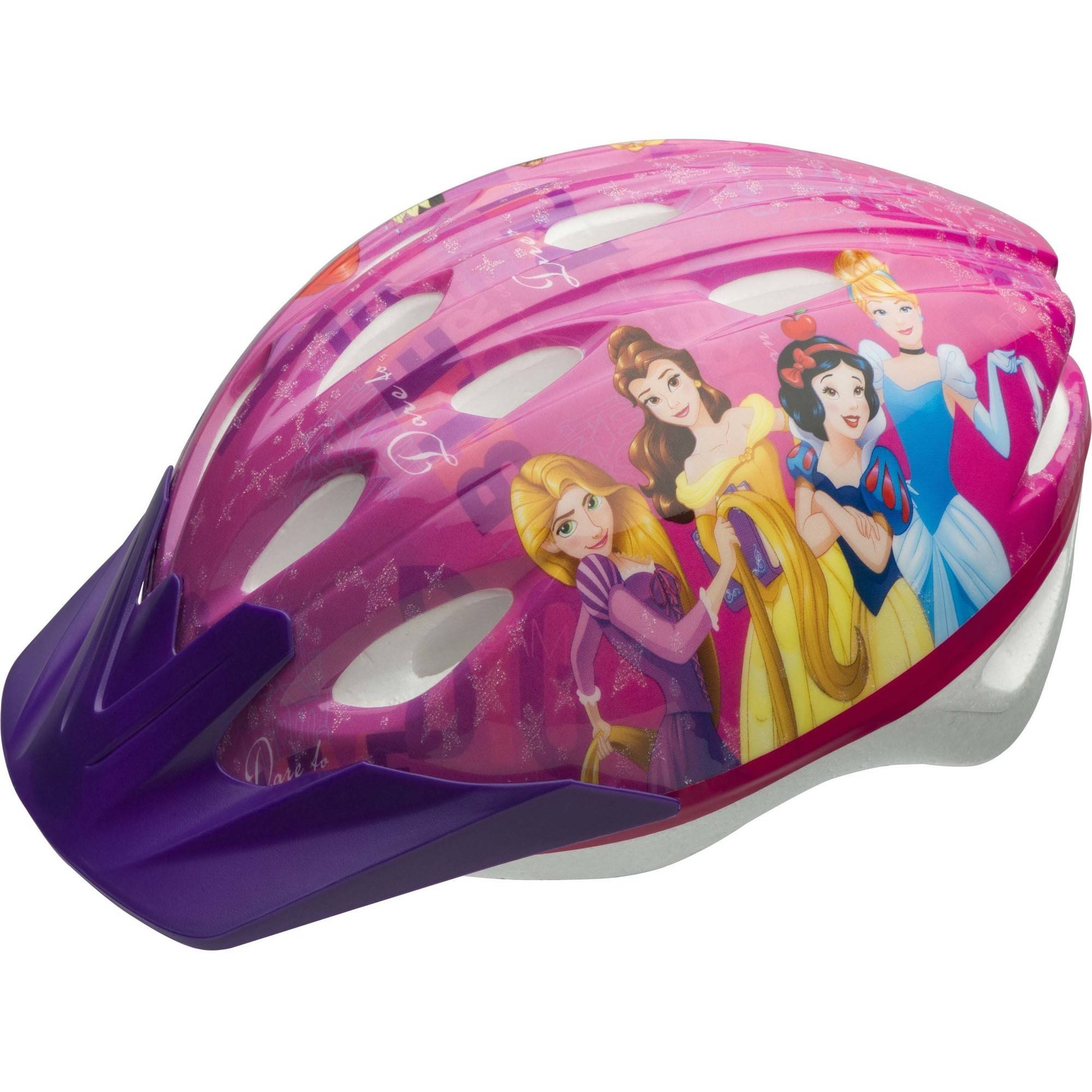 Bell Sports Disney Princess Dare to Believe Child Bike Helmet, Pink by Bell Sports