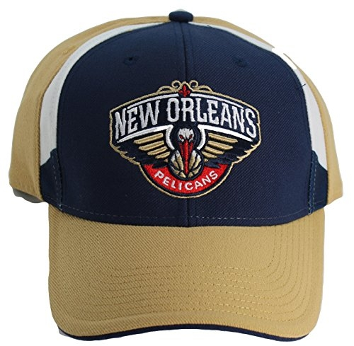 NBA Adidas New Orleans Pelicans Adult Two-Tone One-Fit Flex Fit Cap Hat