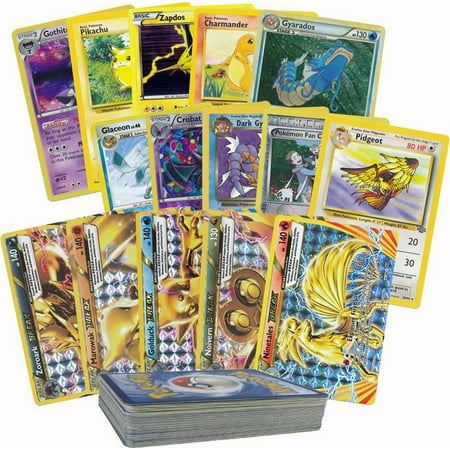 50 Random Pokemon Card Pack Lot - Featuring 1 Break Rare, Foils, Rares, and Holos No - Break Cards