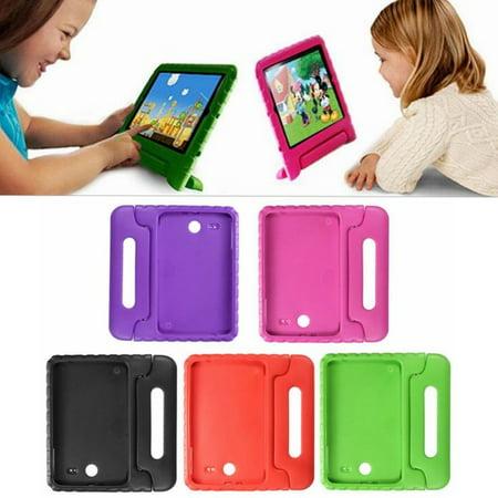 innovative design e9437 907cb 1Pcs For Galaxy Tab E 9.6inch Case , Child Kid EVA Shockproof Thick Foam  Stand Kickstand Hard Case Handle Cover Case