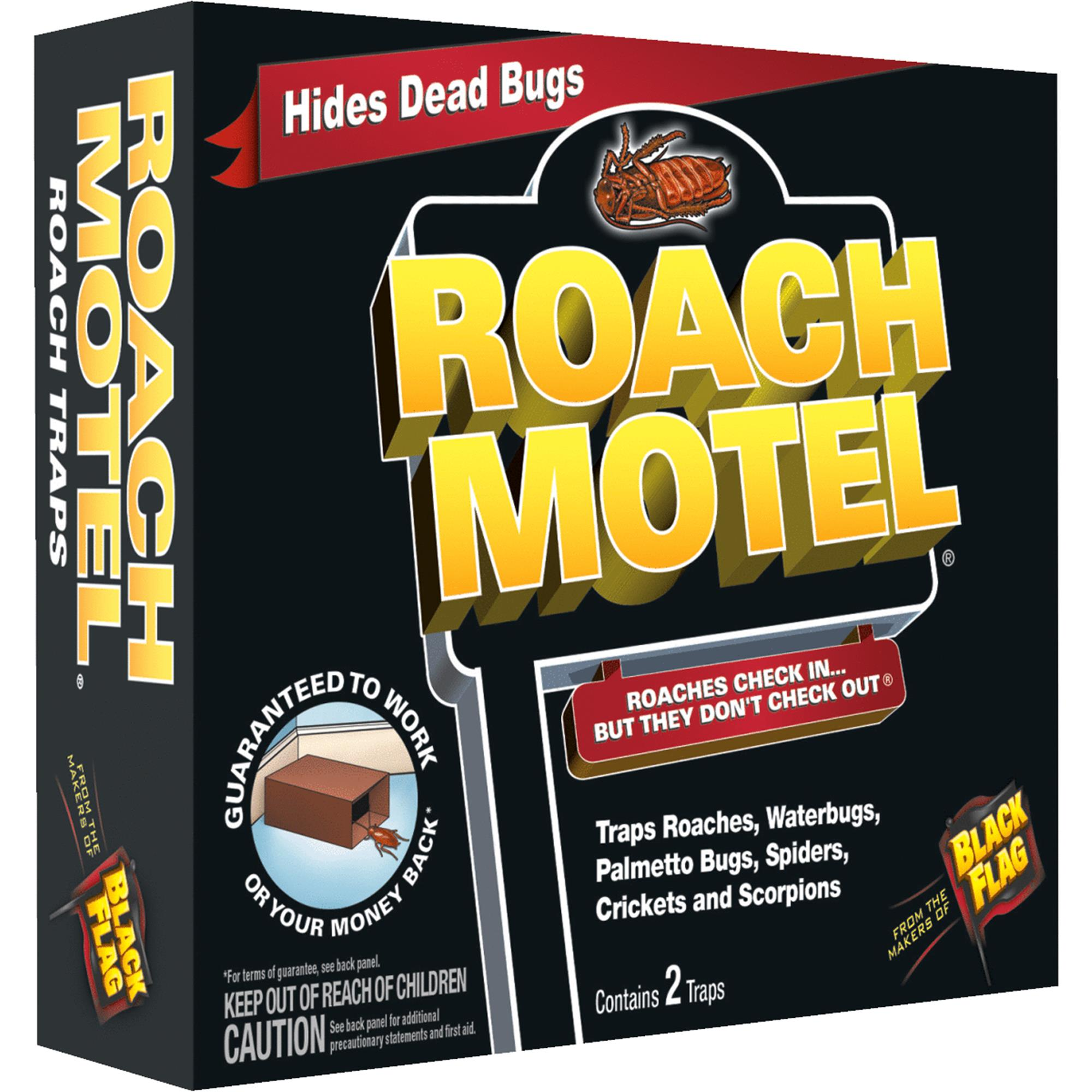 Black Flag Roach Motel Roach Bait & Trap