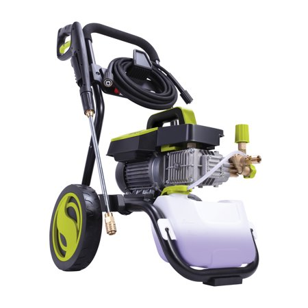 Sun Joe SPX9005-PRO Commercial Series Cold Water Electric Direct Drive Crank Shaft Pressure Washer   1300 PSI Max   2 GPM Max   2.15 HP Motor   120 Volt   -