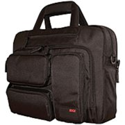 """Refurbished Mobile Edge MEBCC1 Carrying Case (Briefcase) for 16"""" Ultrabook - Black - 1680D Ballistic Nylon - Shoulder Strap, Hand Carry - 12"""" Height x 16.5"""" Width x 7"""" Depth"""