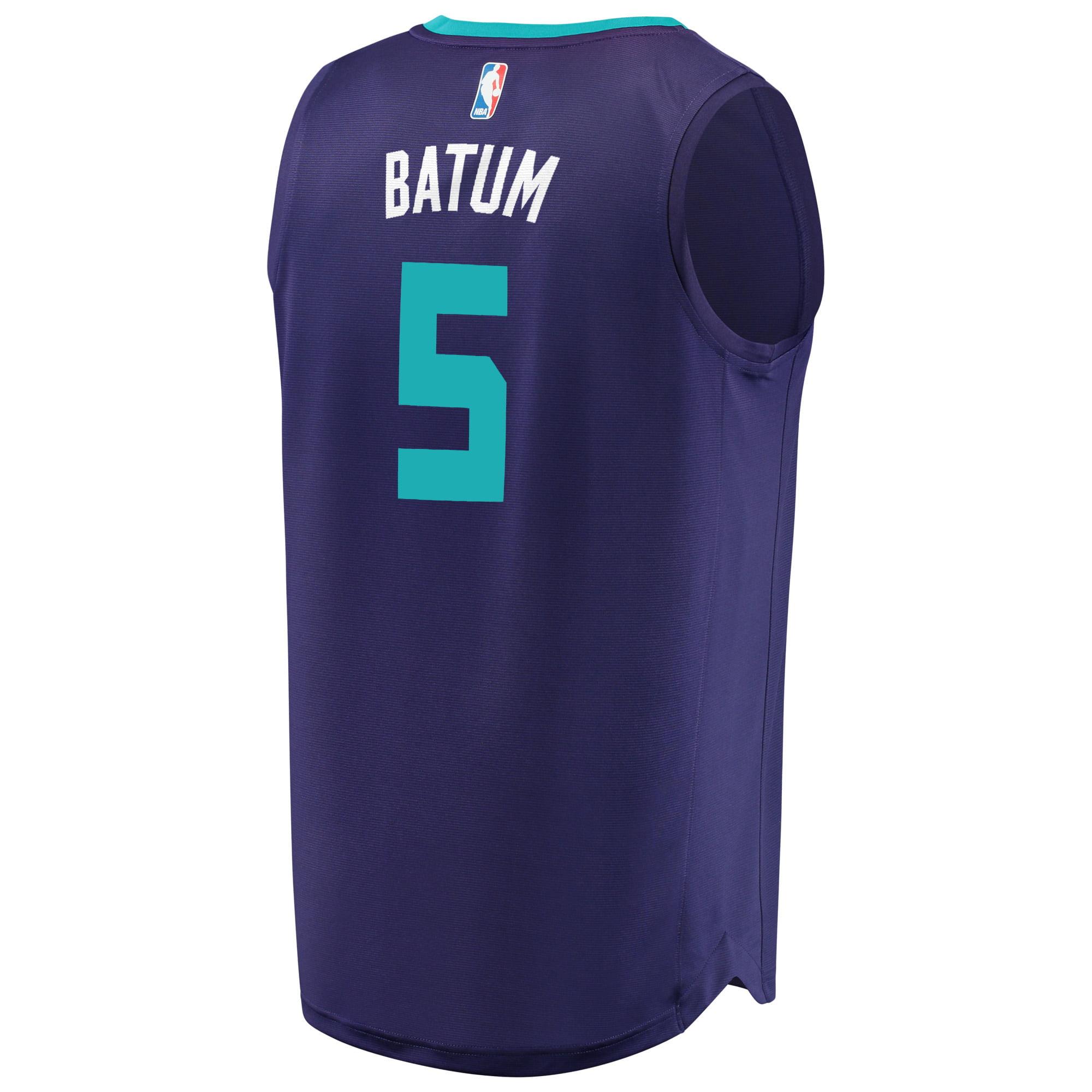 best loved d5efc ee86e Nicolas Batum Charlotte Hornets Fanatics Branded Fast Break ...