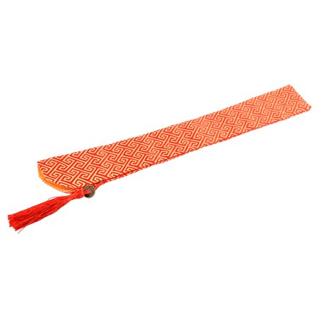 Chinese Classic Style Silk Blend Folding Hand Fan Fabric Sleeve Pouch Cover Case - image 3 de 3