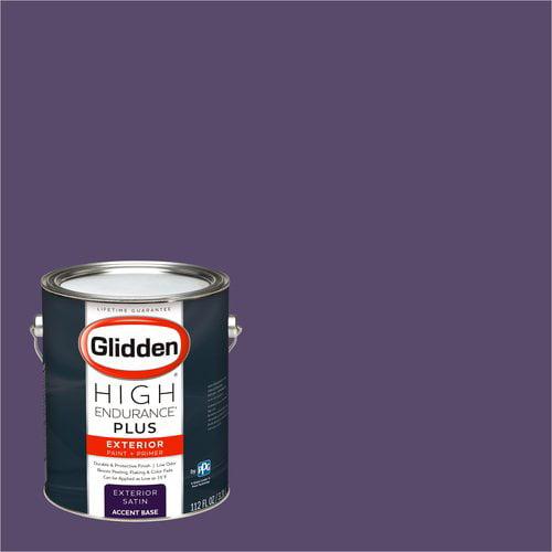 Glidden High Endurance Plus Exterior Paint and Primer, California Raisin, #50RB 10/219
