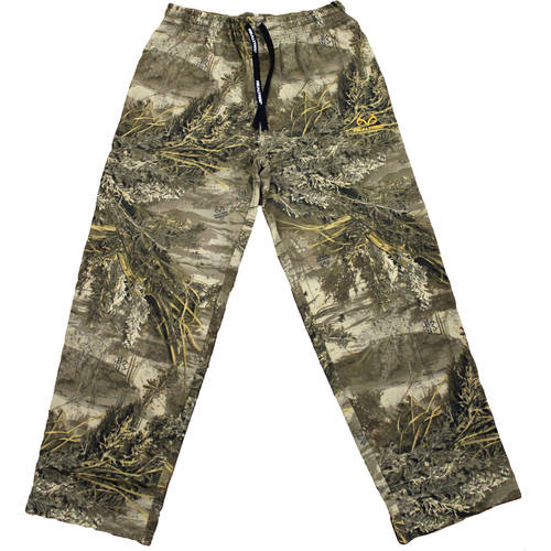 Realtree Men's Fleece Camo Sweatpants, Realtree Max 1XT by Generic