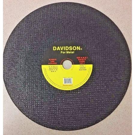 VALLEY METAL CUTTING CUTOFF DISC 14