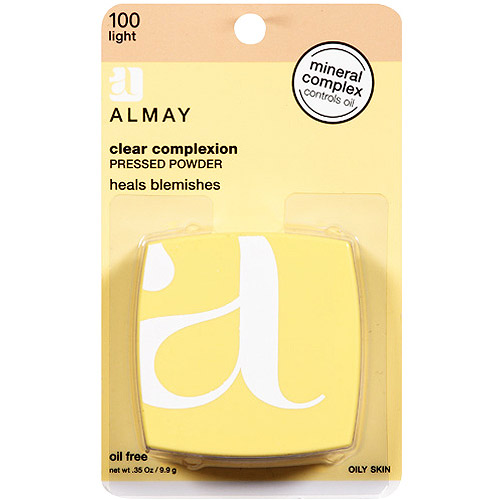 Almay Clear Complexion Pressed Powder, Light