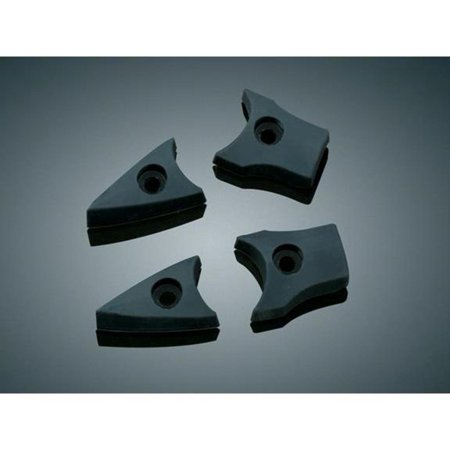 Kuryakyn 7512 Replacement Rubber Pads for Mini Dagger Footpegs
