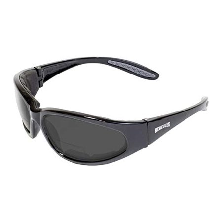 - Global Vision Eyewear Hercules Bifocal 2.5 Magnification Anti-Fog Safety Glasses with EVA Foam, Smoke Lens