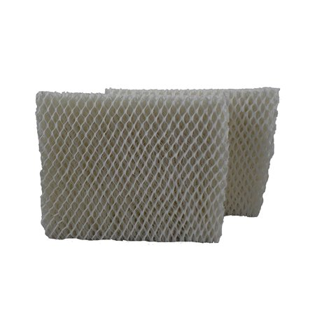 Air Filter Factory 2 Pack Compatible Replacement for Vornado MD1-0001 MD1-1002 Humidifier Wick Filters