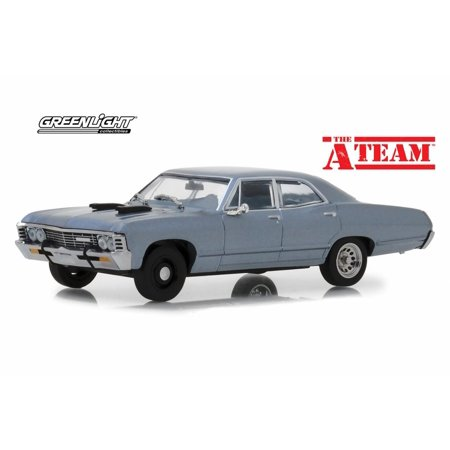 - Chevy Impala Sedan Hard Top, The A-Team - Greenlight 86527 - 1/43 scale Diecast Model Toy Car