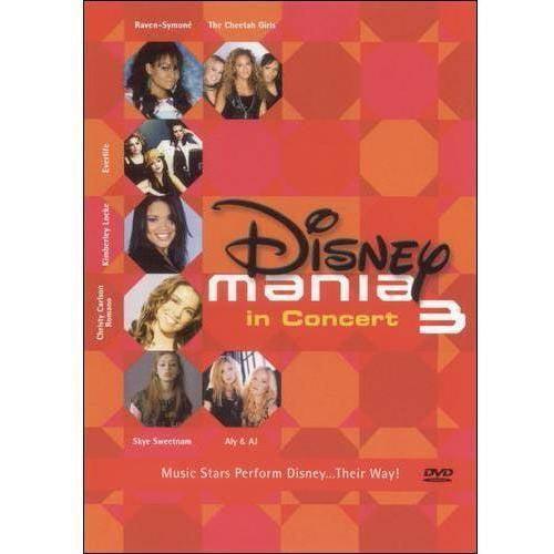 Disneymania 3 In Concert (Music DVD) (Amaray Case)