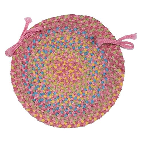 Colonial Mills Botanical Isle 15 in. Round Chair Pad by Colonial Mills Inc