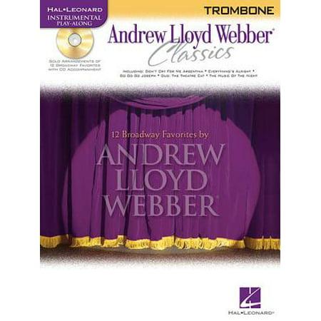 - Hal Leonard Instrumental Play-Along: Andrew Lloyd Webber Classics: Trombone (Other)