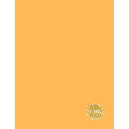 Blank Notebooks (Notebook: Warm Apricot Orange, Dotted Grid Line Diary / Journal / Blank Book, 8.5x11 In, 110 Pages: Blank Notebook to Write in Your Wisdom Thoughts, New Idea, Special Moments, or)