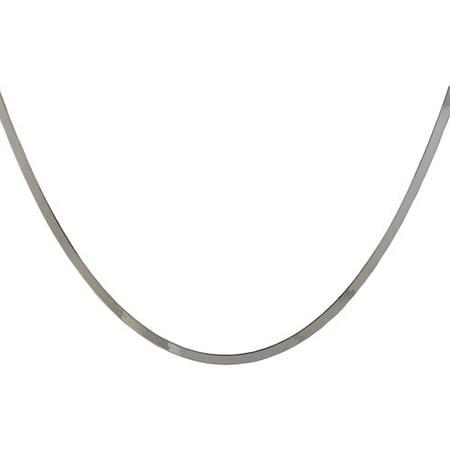 Women's Sterling Silver 3,6mm Herringbone Necklace - Ho Ho Ho Necklace