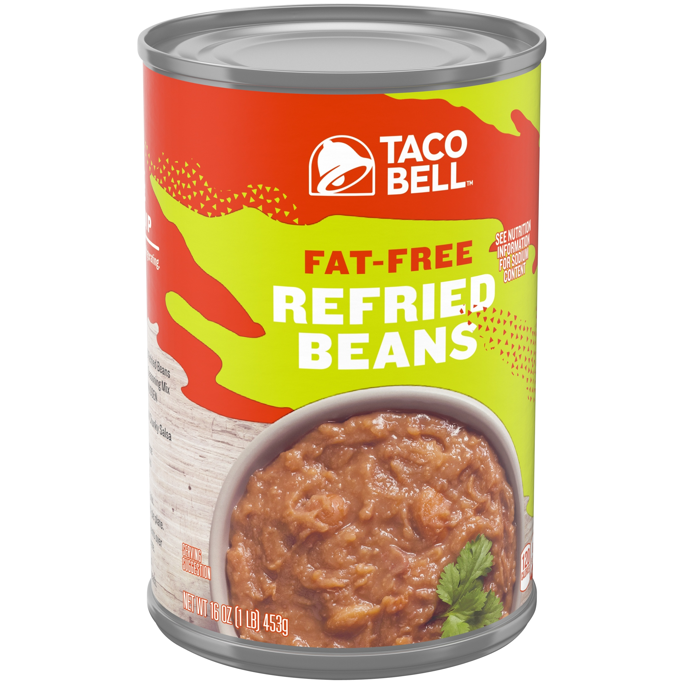 Taco Bell™ Fat-Free Refried Beans 16 oz. Can