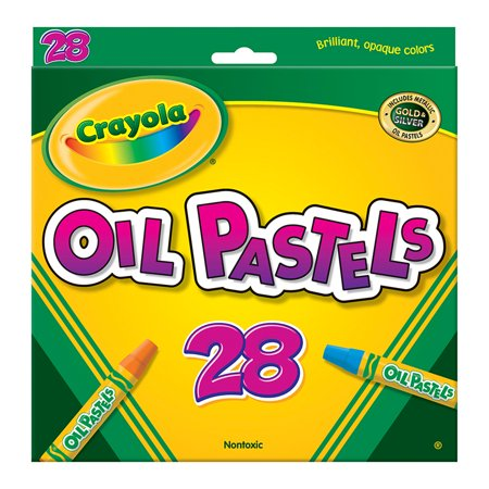 Crayola Oil Pastels, 28 Colors Per Box, Set Of 6 Boxes