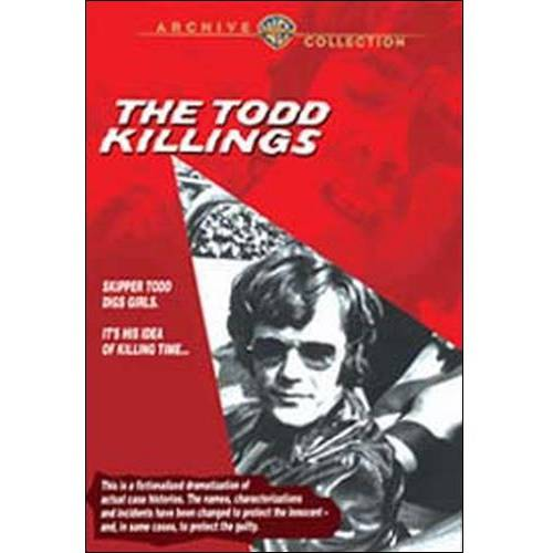 Todd Killings, The (1971) DVD Movie 1971